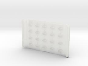 Casio MQ-1 Keypad in Smooth Fine Detail Plastic