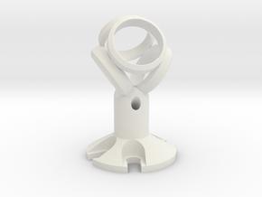 EM204 Ambisonic Saddle in White Natural Versatile Plastic
