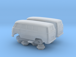 2x Klv 20 rollfähig (V2) in Smoothest Fine Detail Plastic