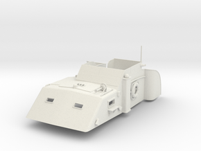 1/29 US PT Boat 109 Chartroom (Deckhouse) in White Natural Versatile Plastic