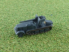 SdKfz. 8 12to Prime Mover with 8,8cm SPG 1/285 6mm in Smooth Fine Detail Plastic