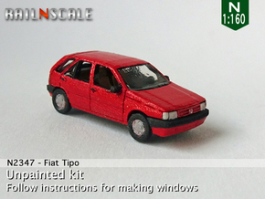 Fiat Tipo (N 1:160) in Smooth Fine Detail Plastic