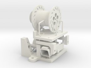 anchor winch automatic Typ A in White Natural Versatile Plastic