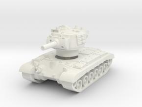 M45 Pershing (skirts) 1/144 in White Natural Versatile Plastic