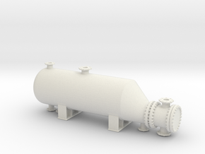 Heat Exchanger 1/76 in White Natural Versatile Plastic