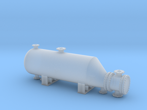 Heat Exchanger 1/160 in Smooth Fine Detail Plastic