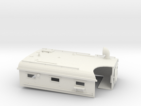 1/29 US PT Boat 109 Dayhouse in White Natural Versatile Plastic