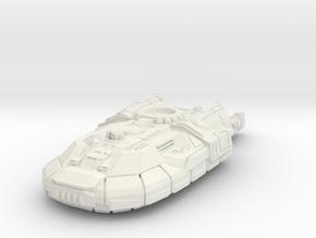 Gadfly Laser Light Hovertank in White Natural Versatile Plastic: 6mm