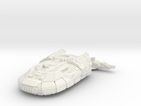 Hoover Light Tank in White Natural Versatile Plastic: 6mm