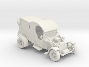 1920s Paddy Wagon Hot Rod 1:160 scale in White Natural Versatile Plastic