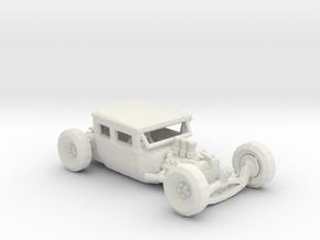 Low Top Rat Rod 1:160 scale in White Natural Versatile Plastic