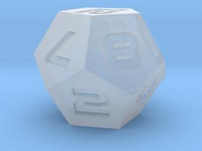 D12 Sharp Edge - Sci-Fi Font in Smoothest Fine Detail Plastic