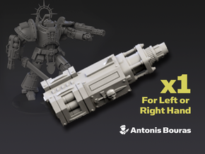 Arch Battleknight: Psycho Cannon in Smooth Fine Detail Plastic
