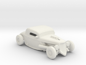 Chop Top Rod 1:160 scale in White Natural Versatile Plastic