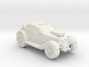 Track Rod 1:160 scale in White Natural Versatile Plastic
