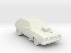 Gremlin Dragster 1:160 scale in White Natural Versatile Plastic