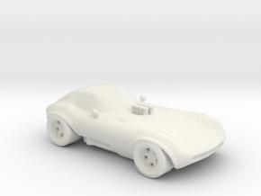 Cheetah 1:160 scale in White Natural Versatile Plastic