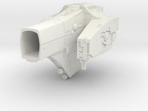 LOGH Imperial Tristan 1:3000 (Part 2/2) in White Natural Versatile Plastic