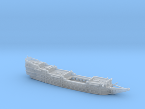 1/700 Galleon (Hull - Gunports Closed) in Smooth Fine Detail Plastic