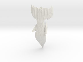Upgrade-Predatorship10 in White Natural Versatile Plastic