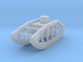 Pioneer Skeleton tank WW1 in Smoothest Fine Detail Plastic: 1:160 - N