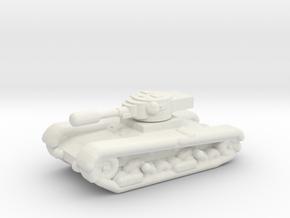 T26 v3 in White Natural Versatile Plastic