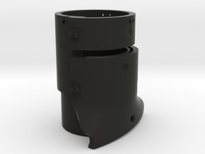 Ned Kelly Gang Outlaw Beer Can or Pencil Holder in Black Natural Versatile Plastic