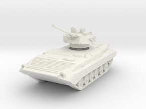 BMP 2 (elevated turret) 1/144 in White Natural Versatile Plastic