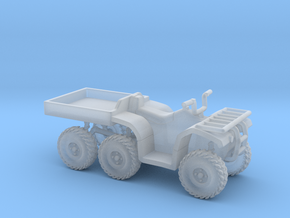 1:72 ATV 6-wheeler in Smooth Fine Detail Plastic