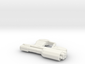 master chiefs pistol in White Strong & Flexible