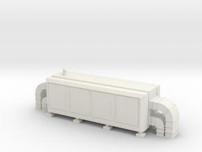 Air Handling Unit 1/76 in White Natural Versatile Plastic