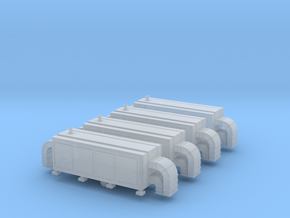 Air Handling Unit (x4) 1/285 in Smooth Fine Detail Plastic