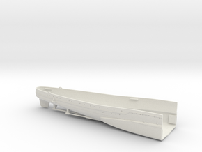 1/350 Heavy Cruiser Furutaka (1942) Stern in White Natural Versatile Plastic