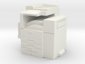 Office Printer 1/35 in White Natural Versatile Plastic
