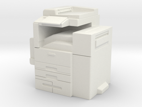 Office Printer 1/24 in White Natural Versatile Plastic