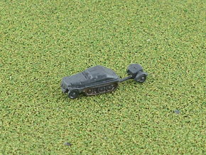 German sd.Kfz. 252 with sd.Ah. 32 1/285 6mm in Smooth Fine Detail Plastic