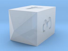 D4 Crystal Custom in Smoothest Fine Detail Plastic: Medium