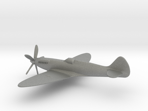 Supermarine Spitfire F Mk.XIV (w/o landing gears) in Gray PA12: 1:144