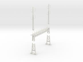 PRR signal lattice2-2x2-2_4 track in White Natural Versatile Plastic