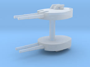 1/600 28cm Twin Turret (1944) in Smooth Fine Detail Plastic