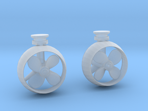 1/50 YTB Tugboat Props SET in Smooth Fine Detail Plastic