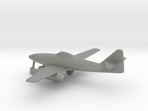 Messerschmitt Me 262 A-1a Schwalbe in Gray PA12: 1:160 - N
