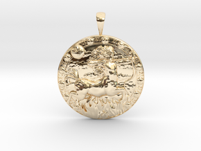 Sagittarius in 14K Yellow Gold