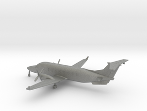 Beechcraft 1900D in Gray PA12: 1:200