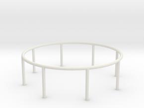 1/72 Scale Airfix Vosper 20mm Ring in White Natural Versatile Plastic