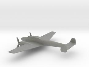 Messerschmitt Bf 110 (w/o landing gears) in Gray PA12: 1:200