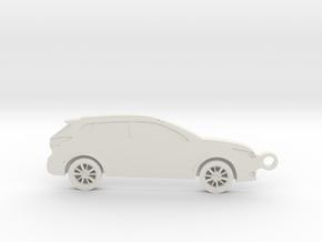 Nissan Rogue Sport T32 (2013 - 2019) in White Natural Versatile Plastic