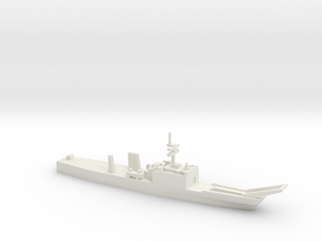 Newport-class LST w/o floats, 1/1250 in White Natural Versatile Plastic