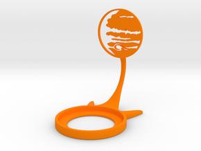 Space Jupiter in Orange Processed Versatile Plastic