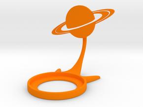 Space Saturn in Orange Processed Versatile Plastic
